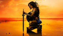 Poster de Wonder Woman à la plage