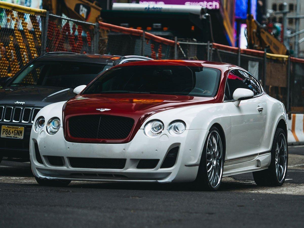 Photo de la Bentley dans le film Fast & Furious 8