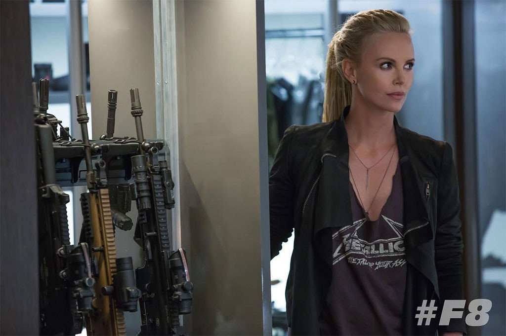 Photo du film Fast & Furious 8 avec Charlize Theron (Cypher)