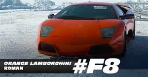 Photo du Lambo dans le film Fast & Furious 8