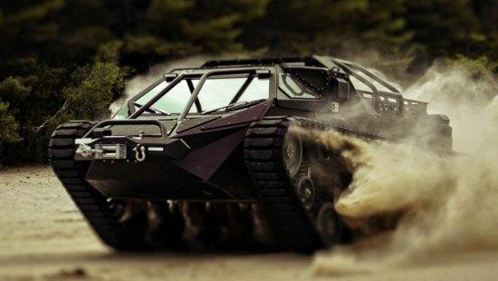 Photo du Tank dans le film Fast & Furious 8