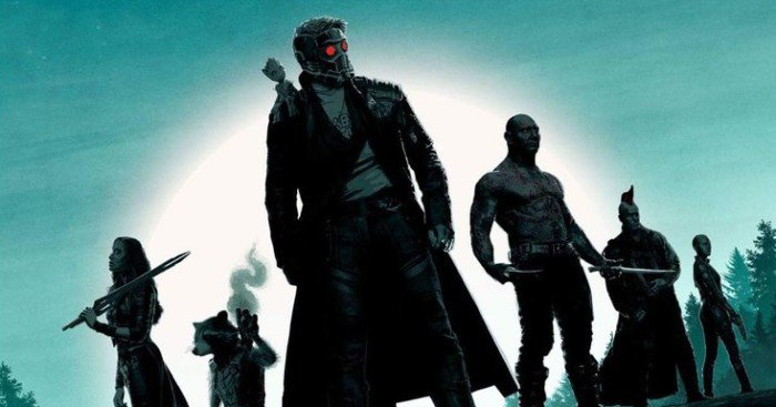 Poster du film Les Gardiens de la Galaxie Vol. 2 par Matt Ferguson
