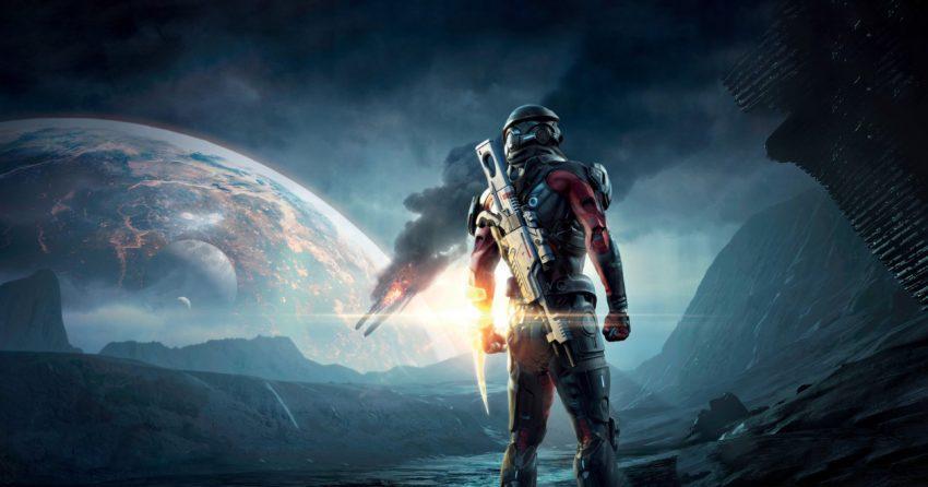 Image du jeu vidéo Mass Effect Andromeda développé par BioWare et édité par Electronic Arts