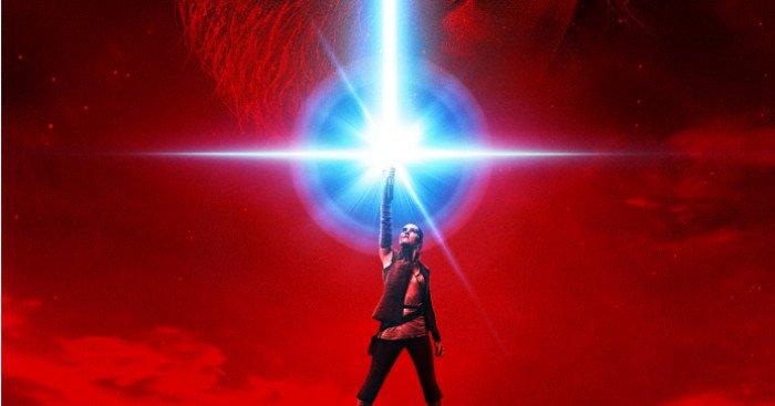 Affiche teaser française de Star Wars: Les Derniers Jedi