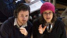 Photo du tournage It's Kind of a Funny Story avec les réalisateurs Anna Boden et Ryan Fleck