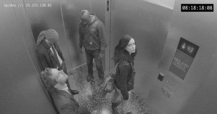 Photo de l'extrait Midland Circle Security Elevator B pour la série The Defenders