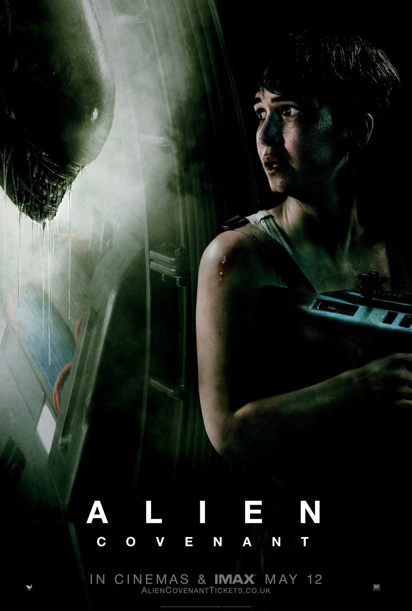 Poster du film Alien: Covenant avec Katherine Waterston