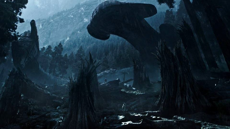 Photo d'Alien: Covenant avec l'épave du Prometheus