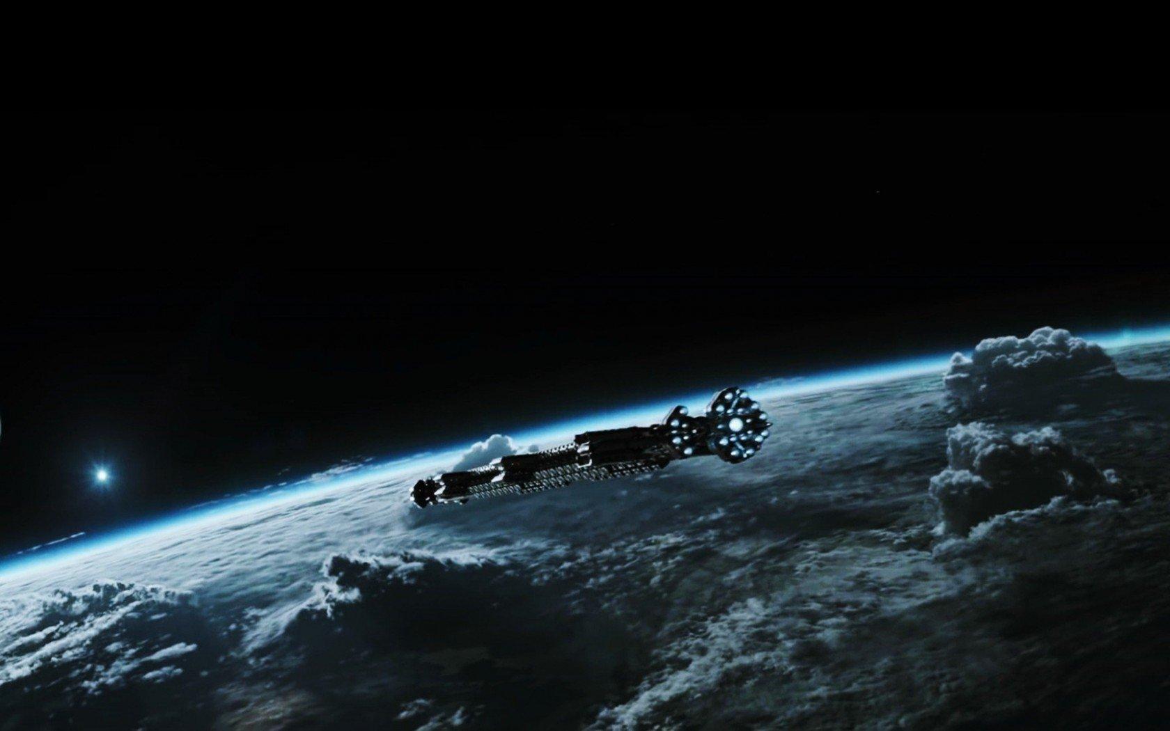 Photo d'Alien: Covenant avec un vaisseau spatial
