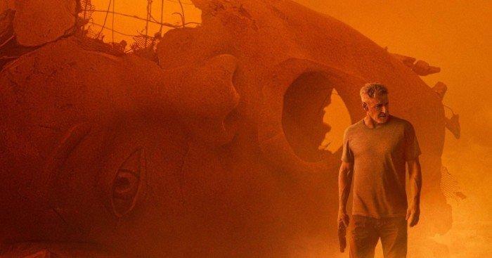 Poster pour le film Blade Runner 2049 avec Harrison Ford
