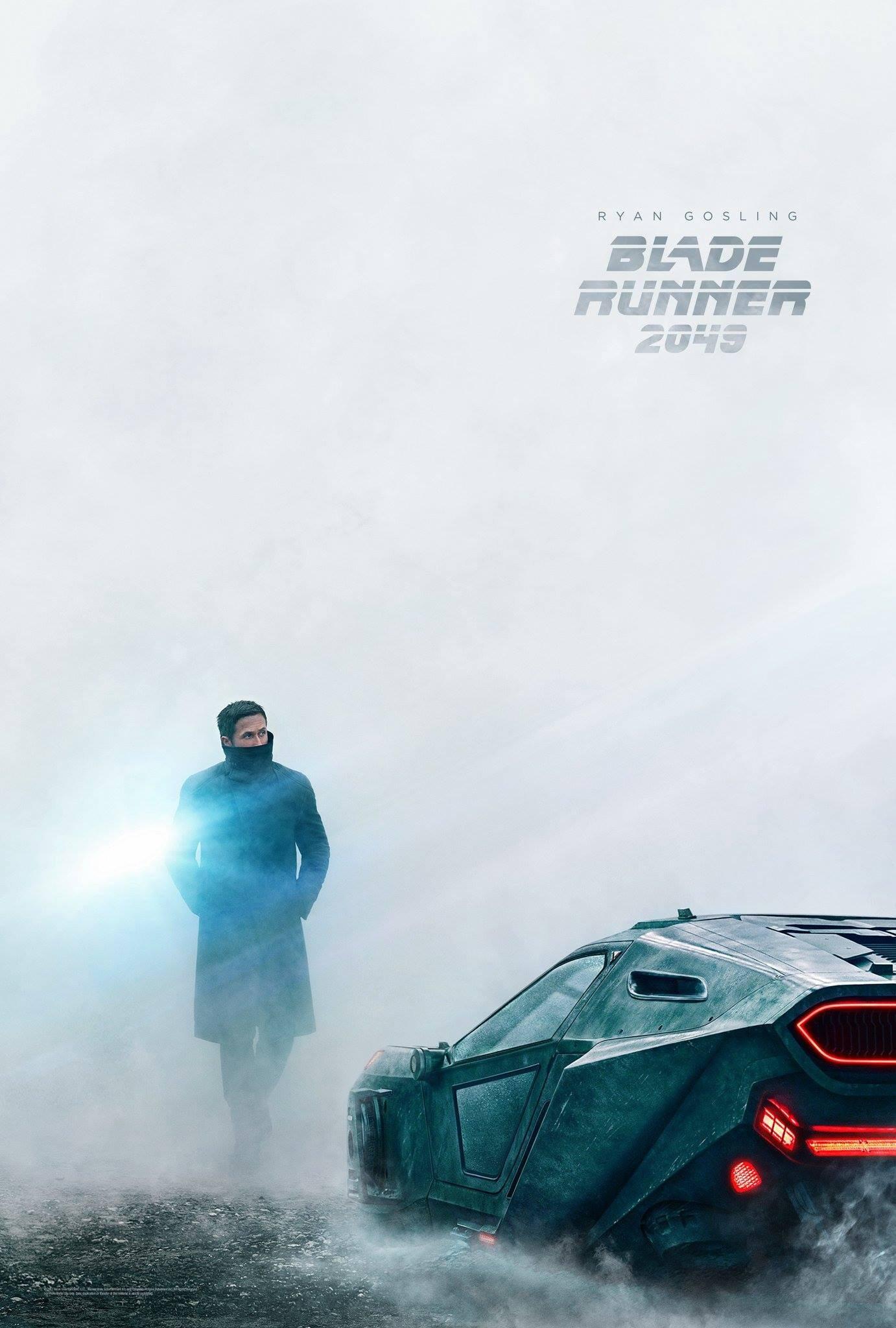 Poster pour le film Blade Runner 2049 avec Ryan Gosling