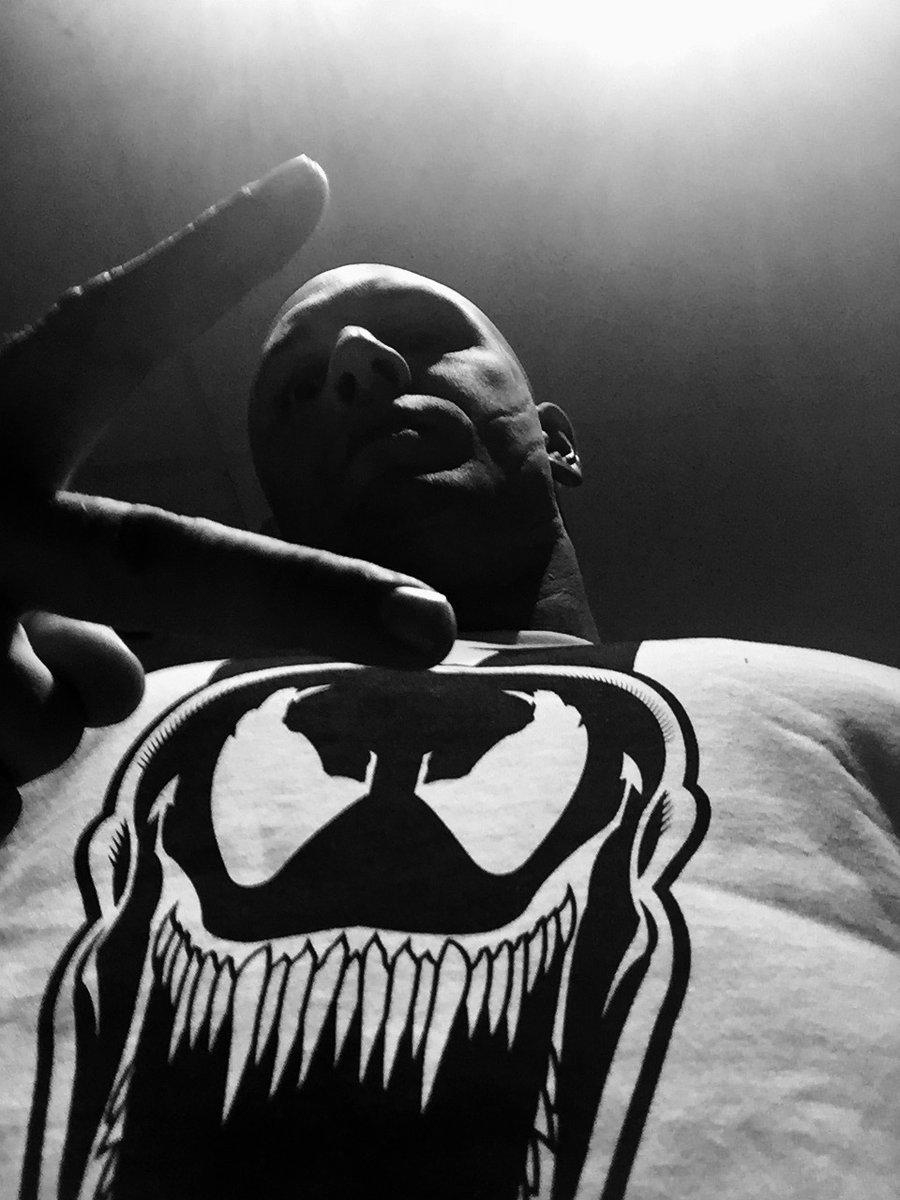 Photo de Tom Hardy pour l'annonce de Venom