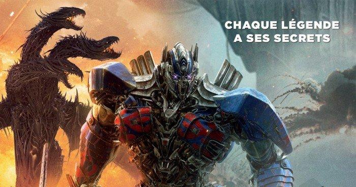 Affiche française du film Transformers: The Last Knight