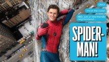 Couverture du numéro de juillet 2017 d'Entertainment Weekly avec Spider-Man: Homecoming