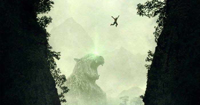 Poster teaser du film Jumanji: Bienvenue dans la jungle (Jumanji: Welcome to the Jungle en VO)