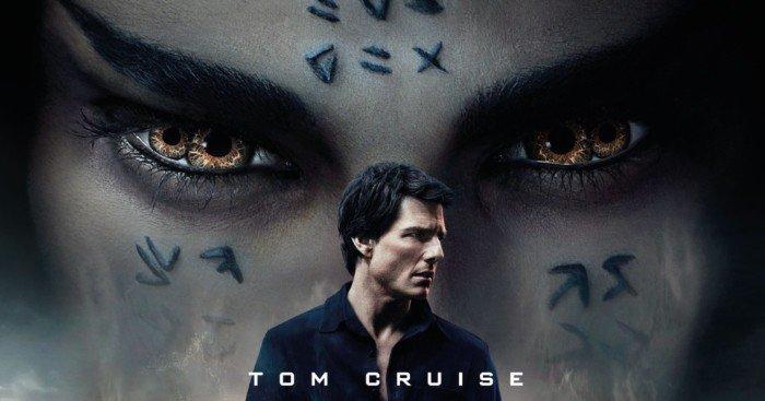 Affiche française du film La Momie de 2017 avec Tom Cruise
