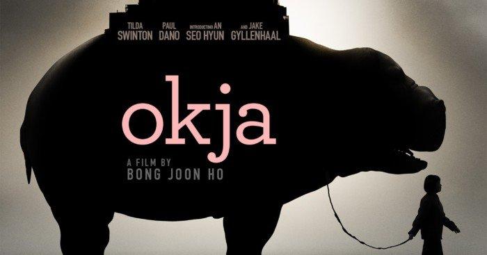 Poster du film Netflix, Okja, réalisé par Bong Joon Ho