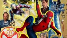 Poster IMAX du film Spider-Man: Homecoming réalisé par Jon Watts, d'après un scénario de John Francis Daley et Jonathan Goldstein, avec Tom Holland, Michael Keaton, Robert Downey Jr., Marisa Tomei, Zendaya, Jacob Batalon et Laura Harrier