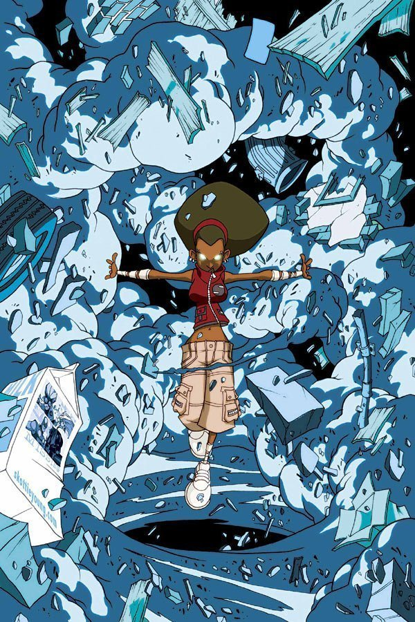 Image de la New Warrior Debrii (Marvel Comics)