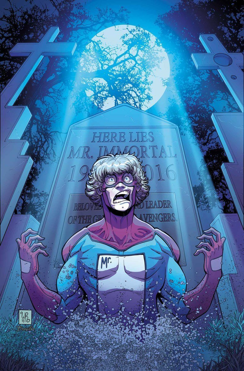 Couverture de Great Lakes Avengers Vol 2 #3 avec Mister Immortal