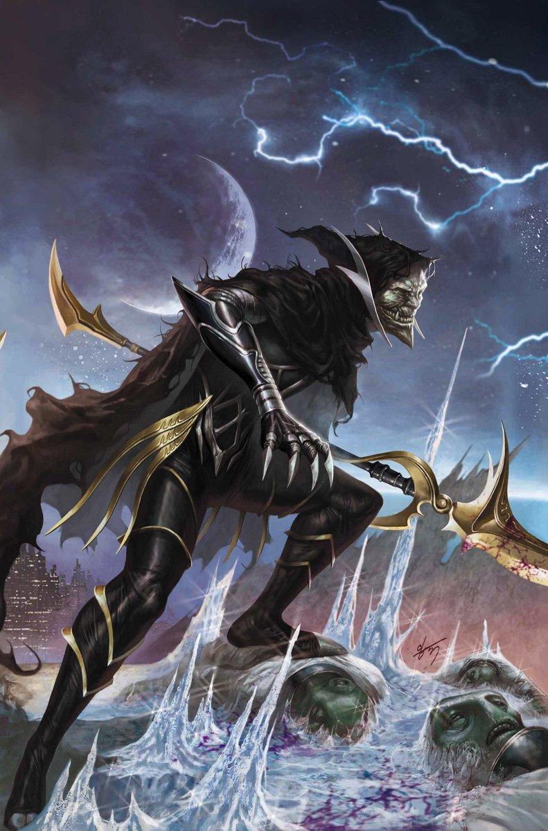 Couverture du numéro 3 d'Infinity Vol 1 (Generals Variant Textless) avec Corvus Glaive