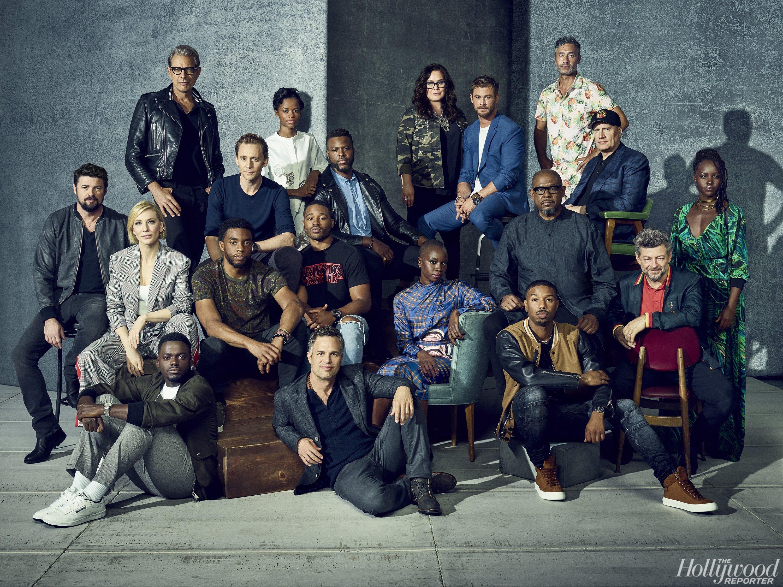 Photo de la Comic-Con 2017 avec le casting de Black Panther et Thor: Ragnarok