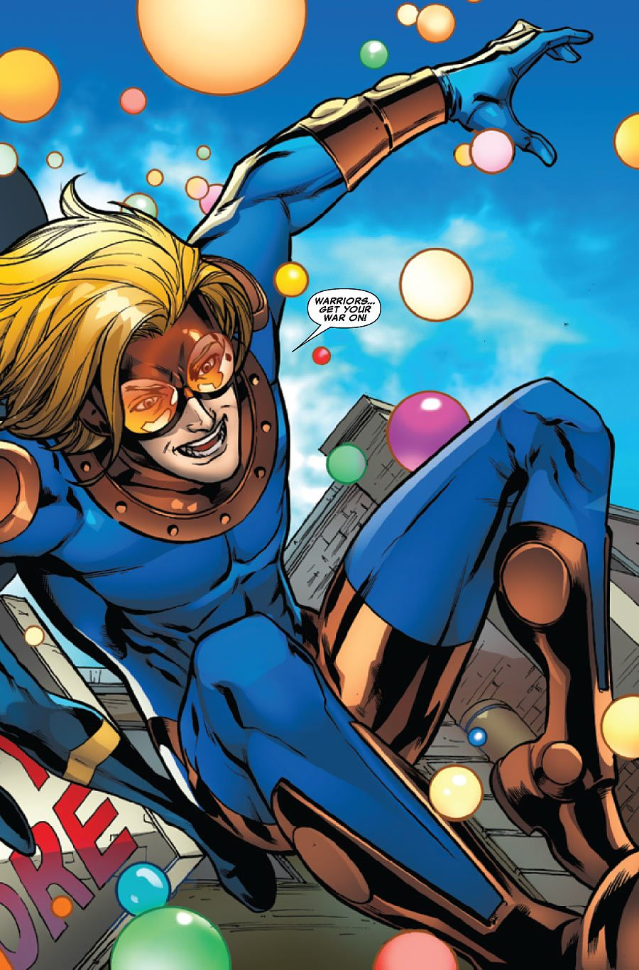 Image du personnage de Marvel Comics, Speedball