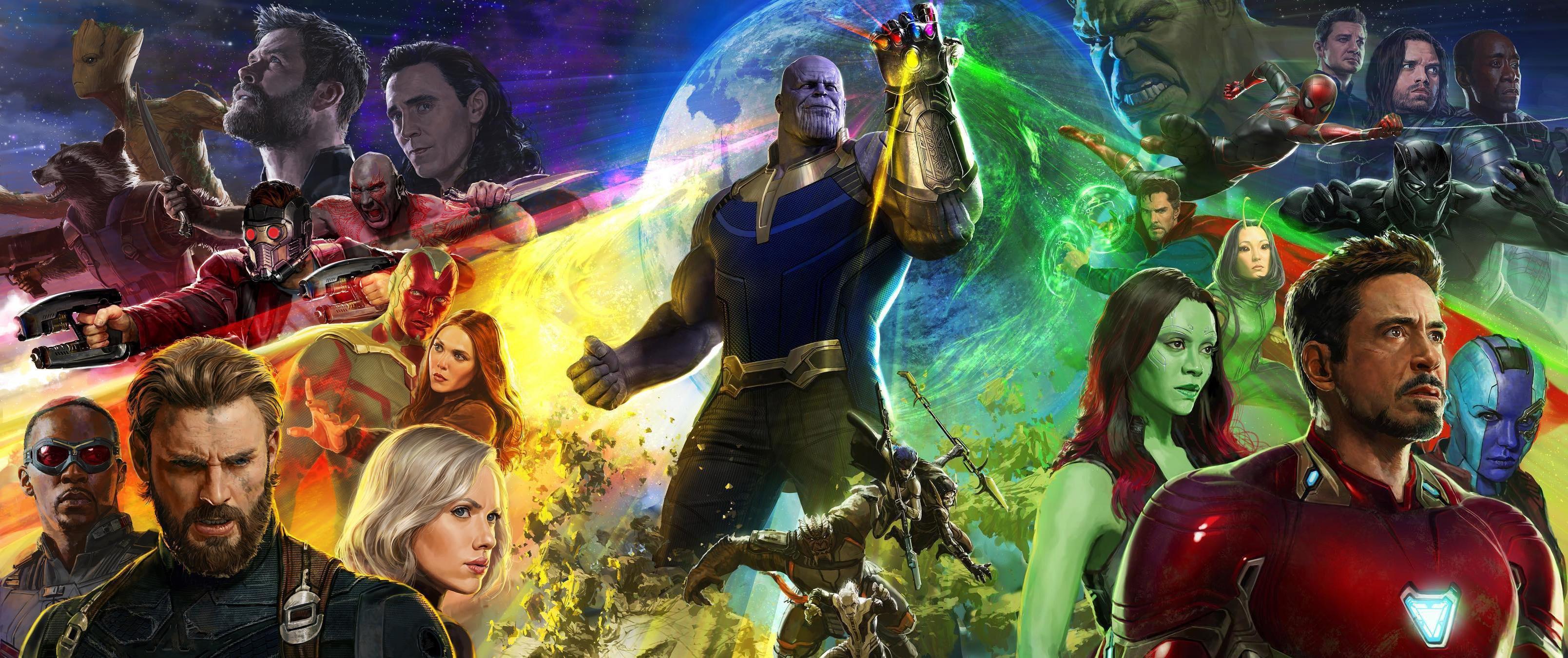 Concept art Comic-Con 2017 de Ryan Meinerding pour Avengers: Infinity War