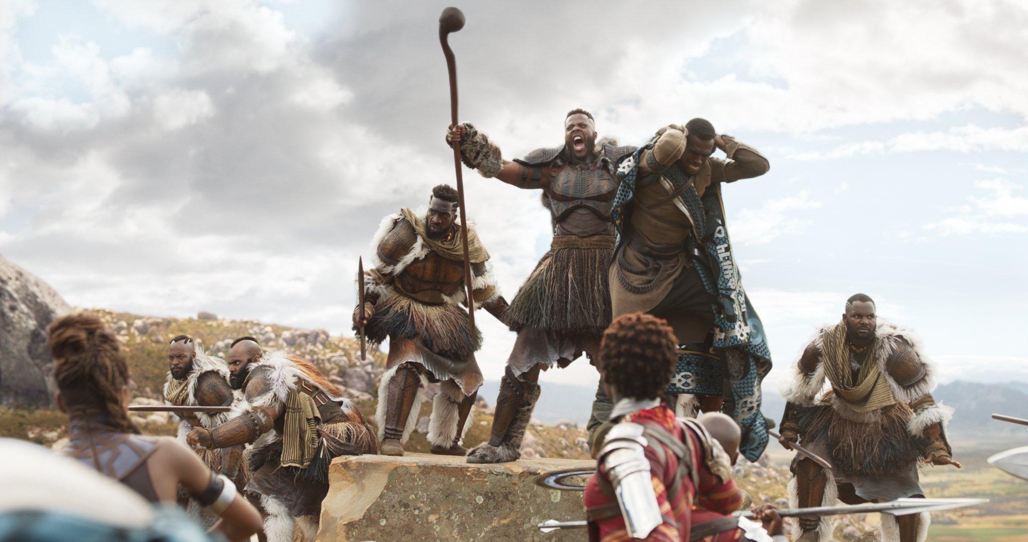 Photo du film Black Panther avec Man Ape