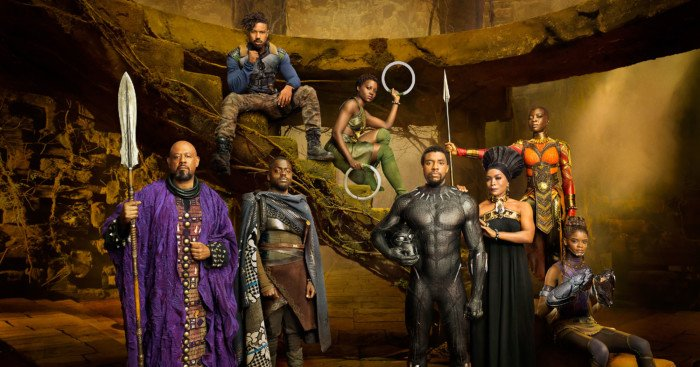 Photo de Black Panther avec le casting