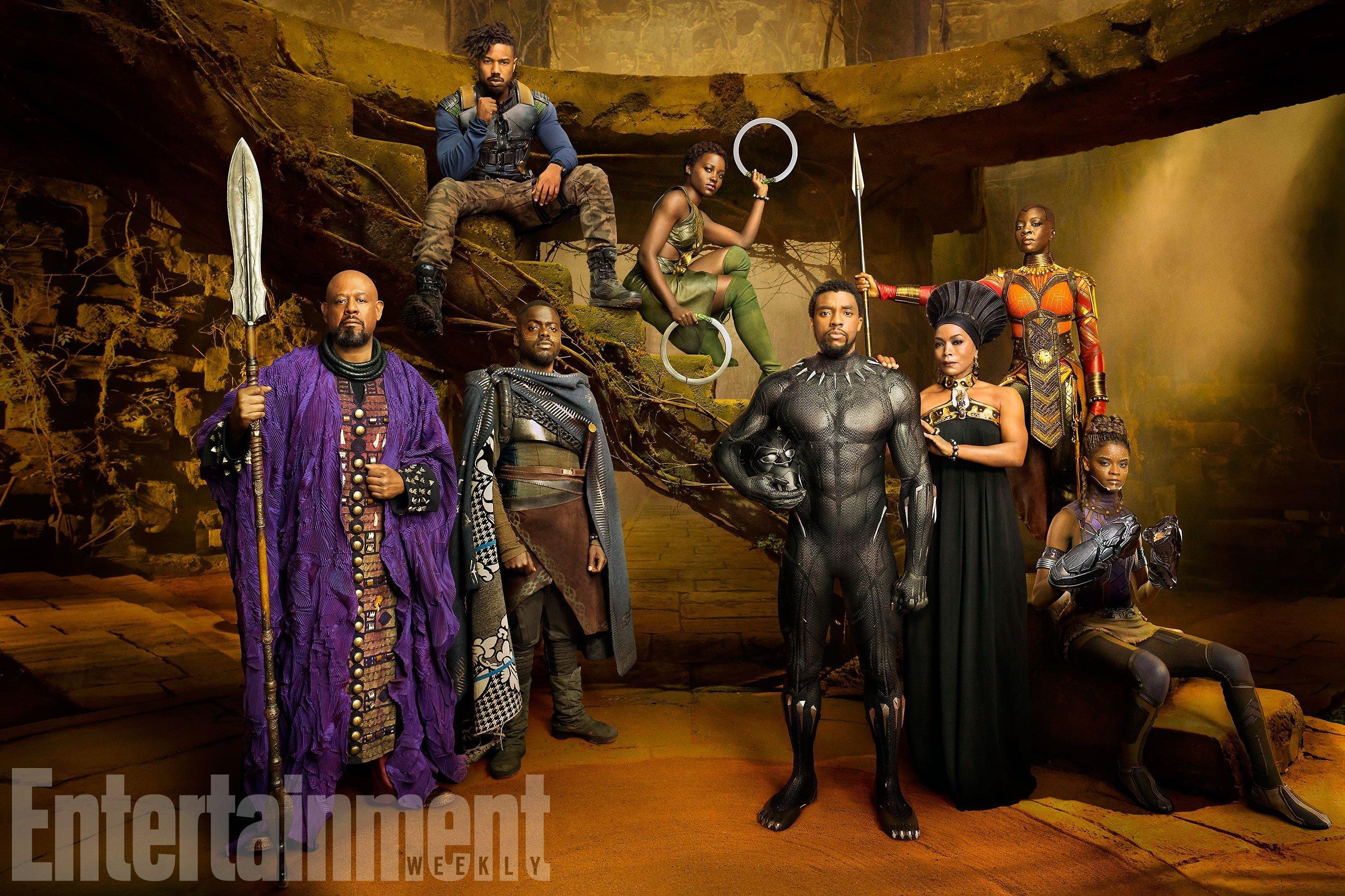 Photo de Black Panther avec le casting