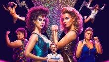 Poster de la saison 1 de la série Netflix, GLOW