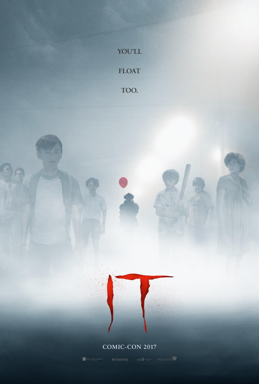 Poster du film Ça (It en VO) pour la Comic-Con 2017
