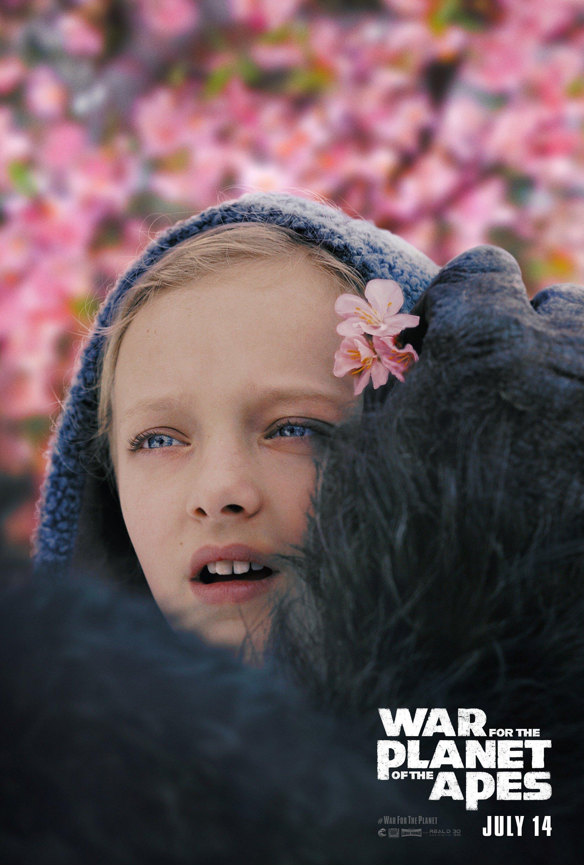 Poster du film La Planète des Singes: Suprématie avec Nova