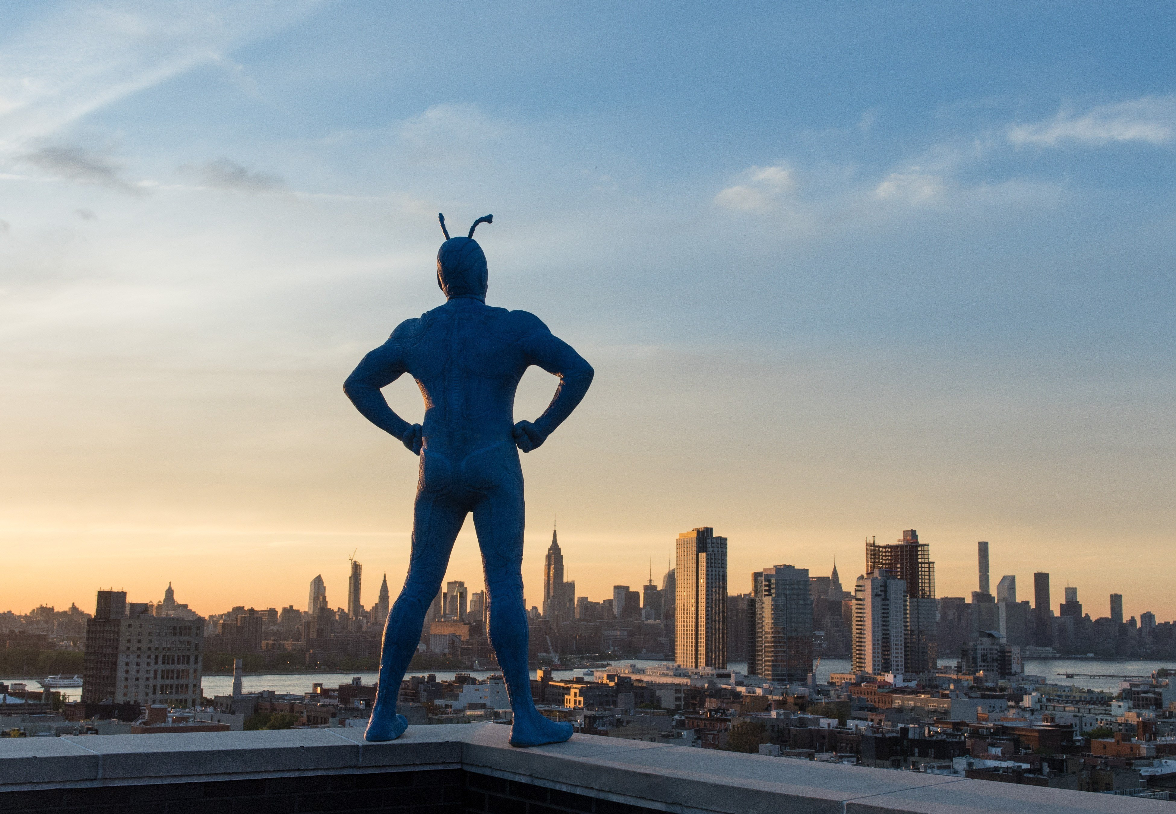 Photo de la saison 1 de The Tick avec La Tique