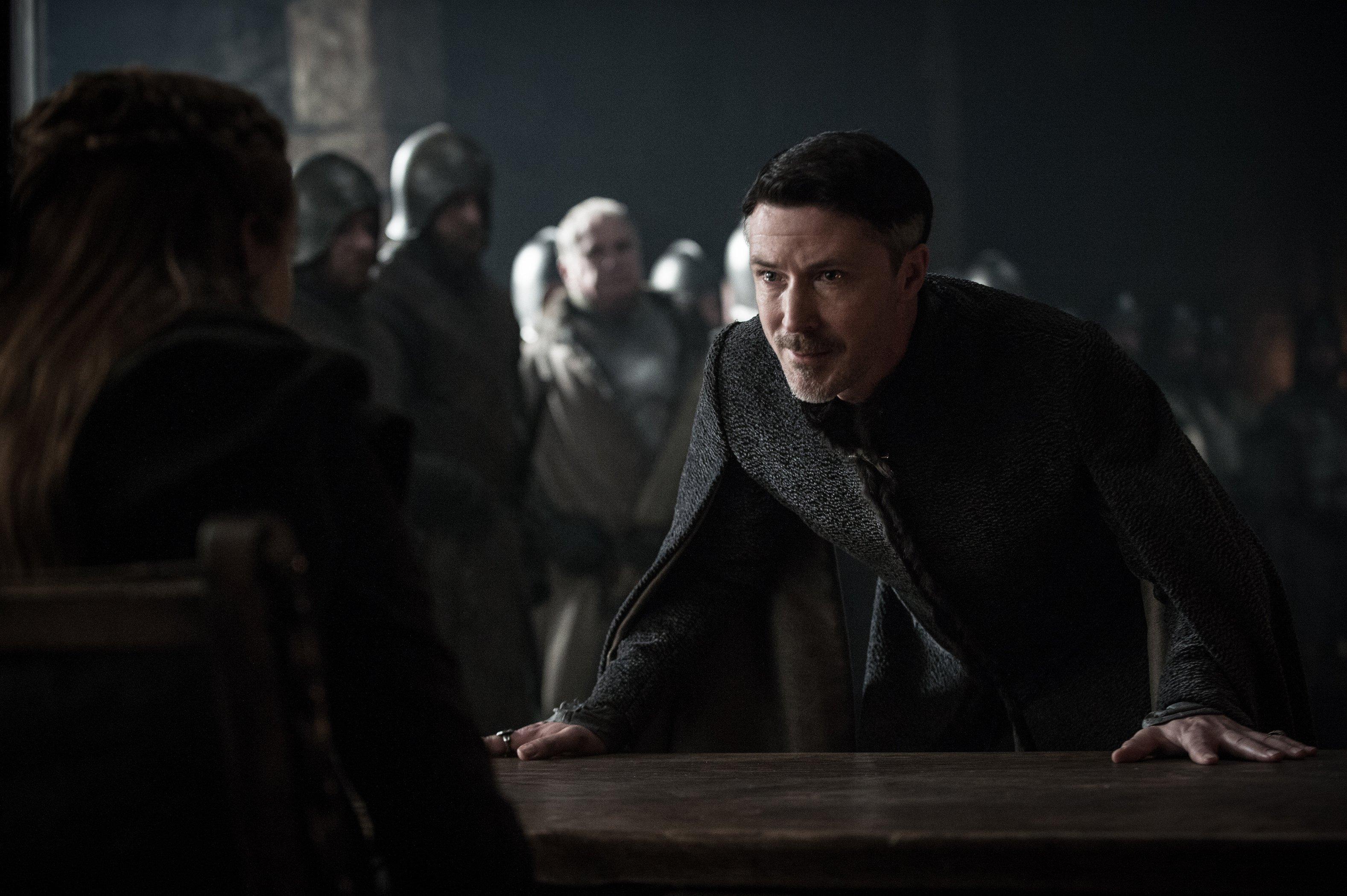 Photo de l'épisode Le Dragon et le Loup de la saison 7 de Game of Thrones avec Littlefinger