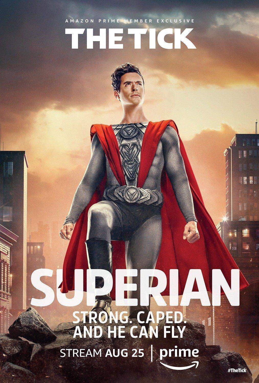 Poster de la saison 1 de The Tick avec Superien