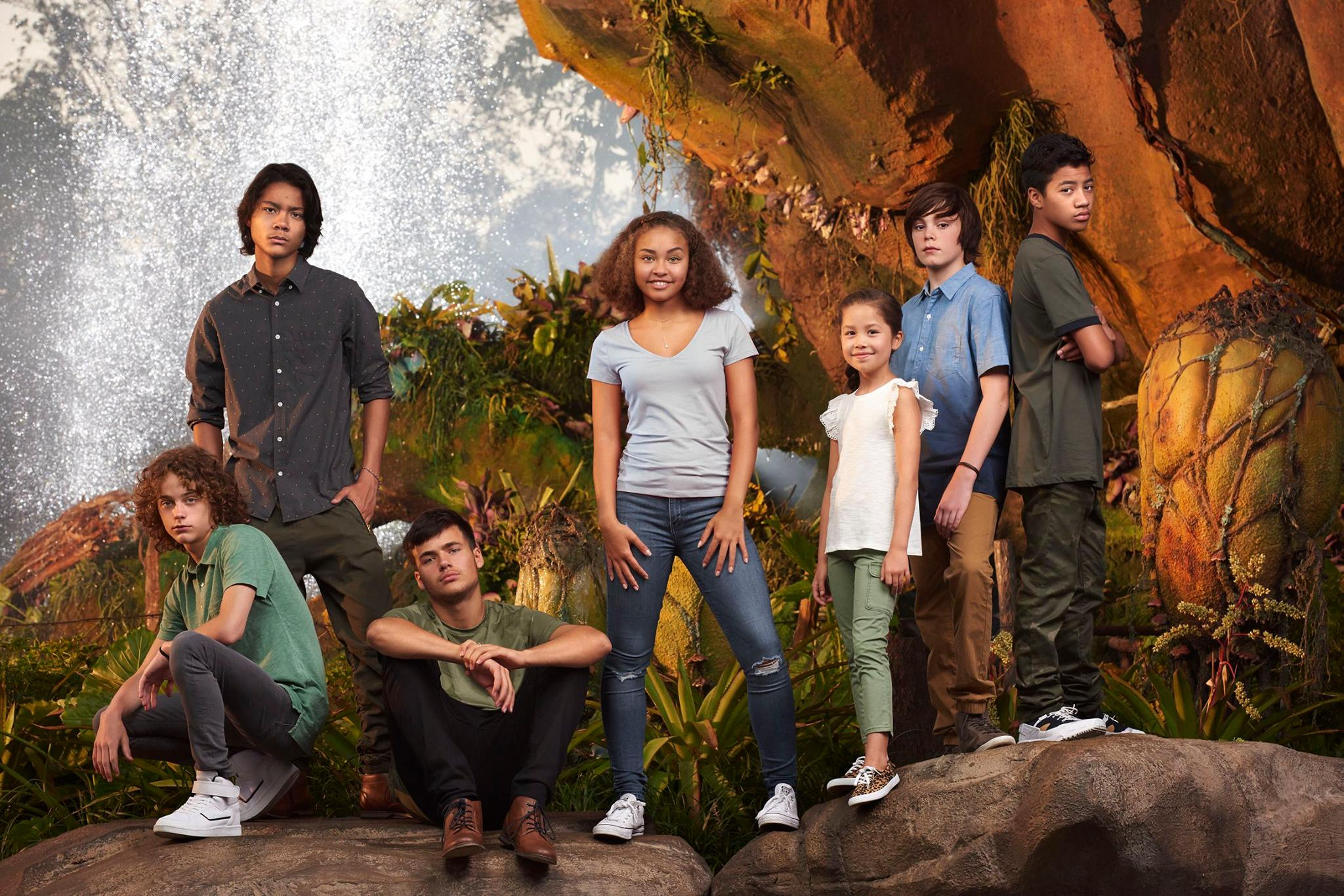 Deuxième photo des enfants des Avatar Sequels prise au parc Disney Animal Kingdom à Orlando