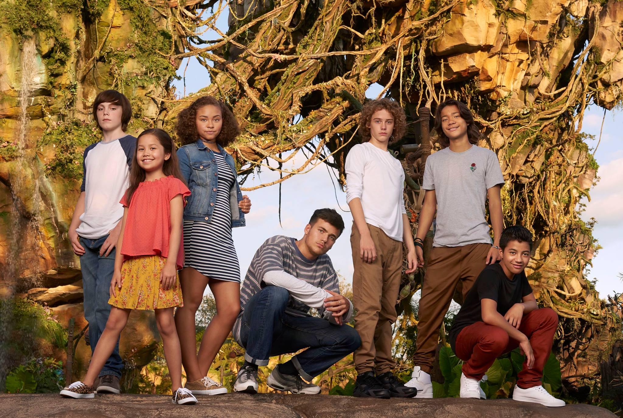 Troisième photo des enfants des Avatar Sequels prise au parc Disney Animal Kingdom à Orlando