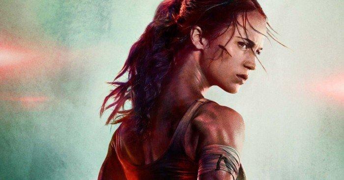Premier poster du film Tomb Raider (2018) avec Alicia Vikander