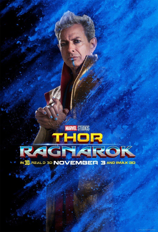 Poster du film Thor: Ragnarok avec Grandmaster