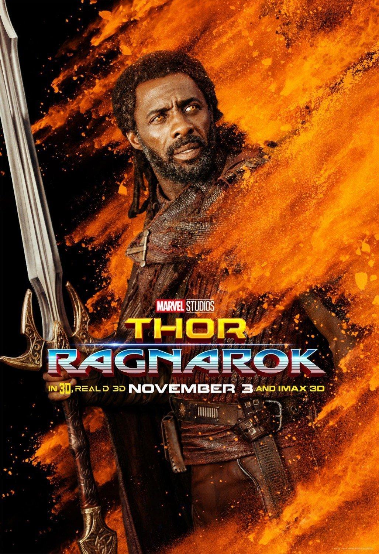 Poster du film Thor: Ragnarok avec Heimdall