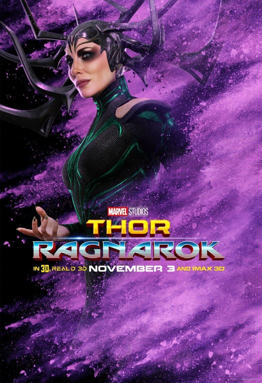 Poster du film Thor: Ragnarok avec Hela