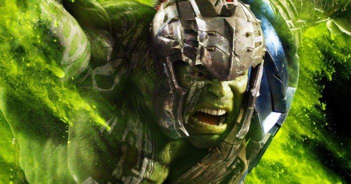 Poster du film Thor: Ragnarok avec Hulk