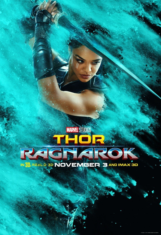 Poster du film Thor: Ragnarok avec Valkyrie