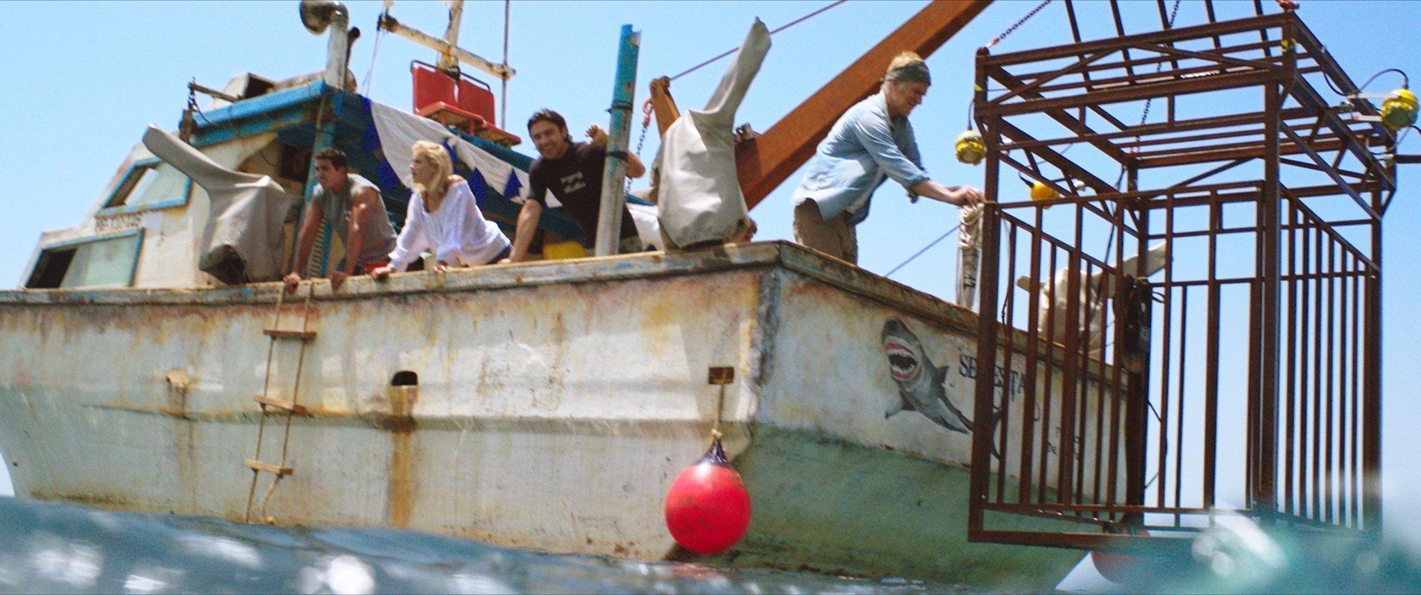 Photo du film 47 Meters Down avec la cage