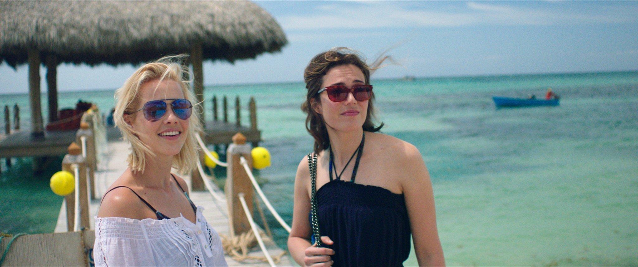 Photo du film 47 Meters Down avec les deux soeurs