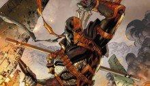 Deathstroke #3, couverture variante par Tony Daniel avec les couleurs par Tomeu Morey