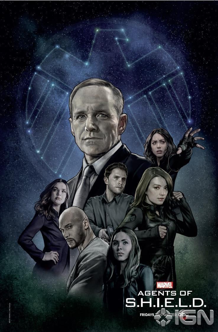 Poster de la saison 5 d'Agents of SHIELD pour la Comic-Con de New York de 2017