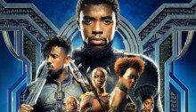 Poster définitif pour le film Black Panther réalisé par Ryan Coogler, sur un scénario de Joe Robert Cole et Ryan Coogler